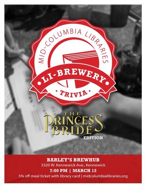 li brewery trivia night princess bride edition mid columbia libraries