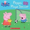 Cover image for Peppa plays soccer.