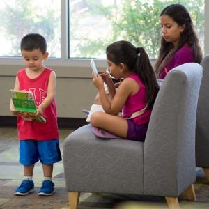 Family reading