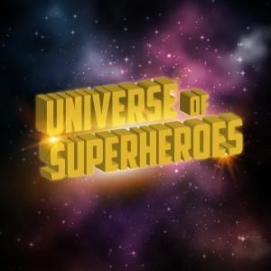 universe of superheroes logo