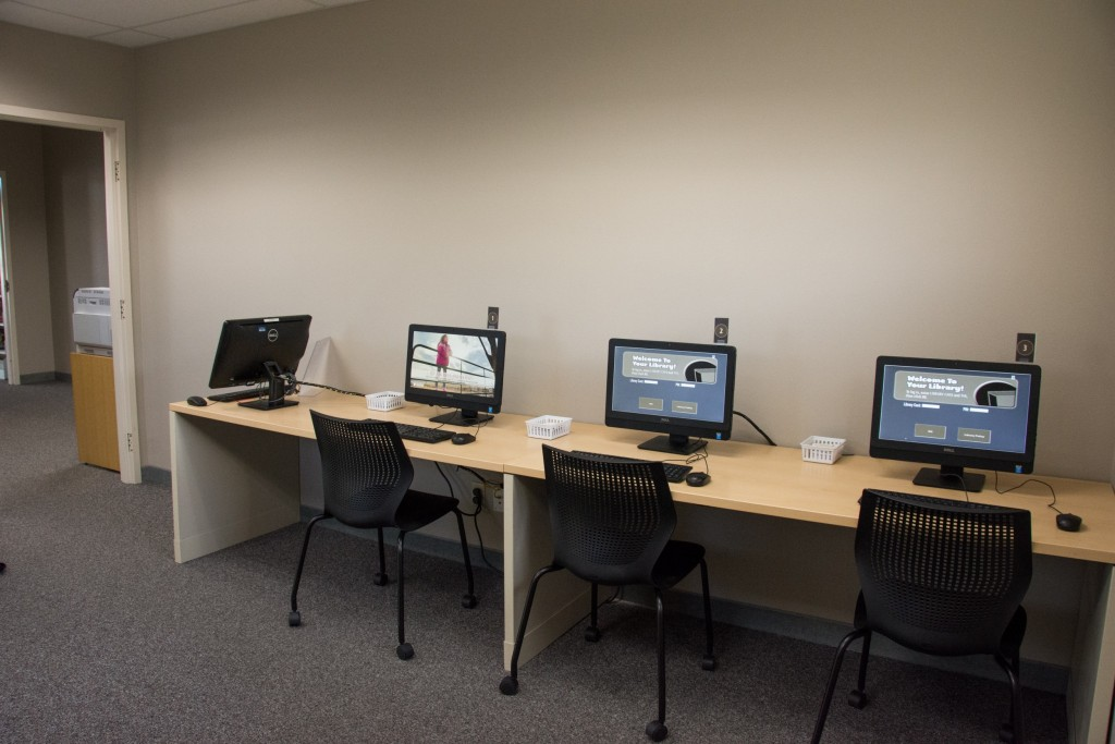 Temporary branch computer lab