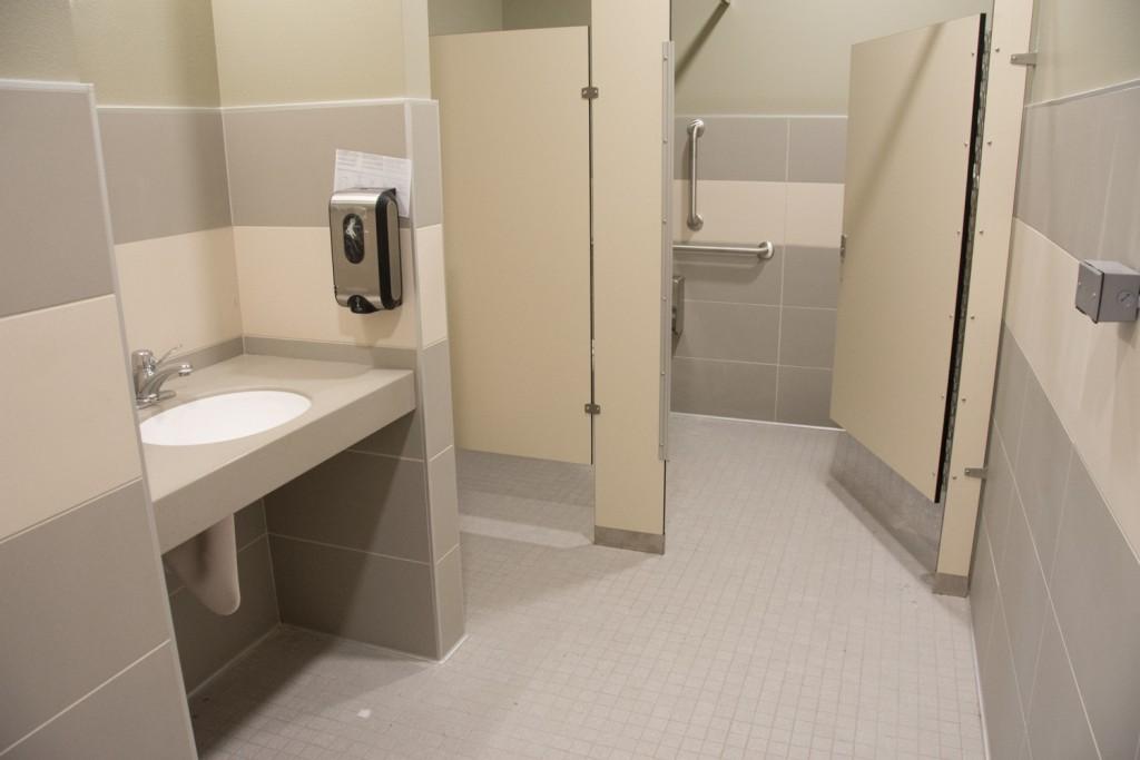 New bathroom fixtures installed 3/12/19