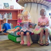 Children with books
